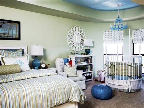 schlafzimmer und babyzimmer in einem rundes babybett f 252 r ein gem 252 tliches babyzimmer archzine net