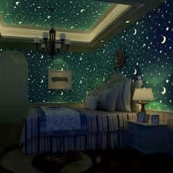 Boys Bedroom Paint Ideas aliexpress com buy 3d luminous romantic stars moon