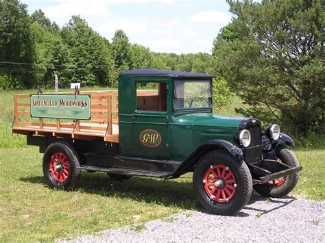 Handmade 1928 Chevrolet Truck by Greenfield Woodworks