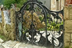 iron gates antique wrought iron garden gates