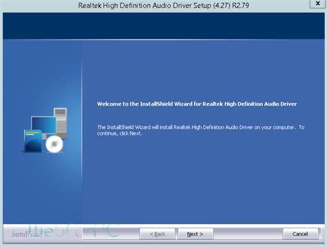 hd web software free realtek hd audio drivers free web for pc