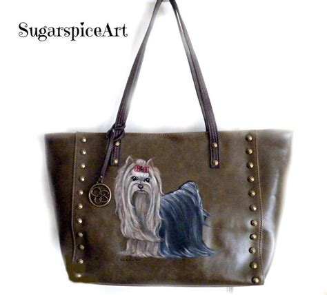 yorkie purses 17 best images about sugarspiceart on tote purse cuff watches and yorkie