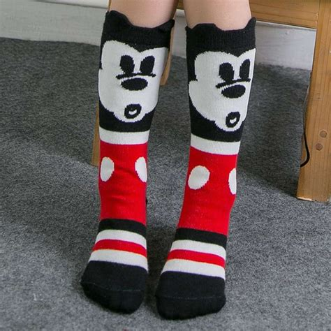 Happy Baby Socks For Boy Isi 6 2016 retail children cotton socks knitted happy mouse 3 d ears leg warmer baby knee