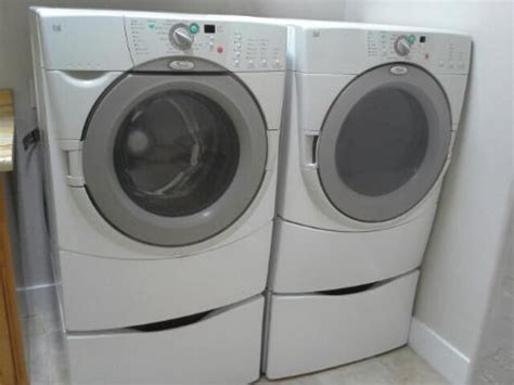 Pedestals For Whirlpool Washer And Dryer whirlpool duet washer dryer includes pedestals salt lake city 84092 350
