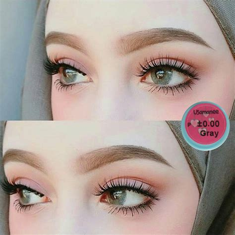 color contact lens contact lens dueba usamanee grey color lens korean lens