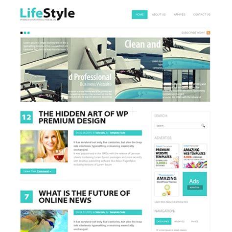 Lifestyle Wordpress Theme Wp Personal Creative Wordpress Themes Templatesold Com Lifestyle Templates