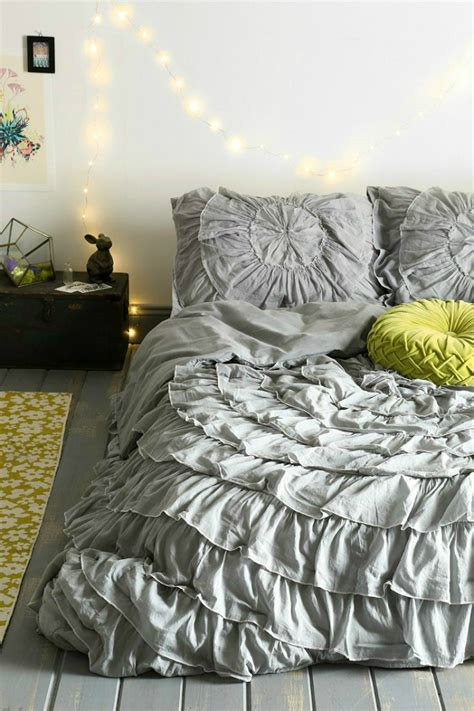 grey ruffle comforter 20 best multi colored spring bedding sets decoholic