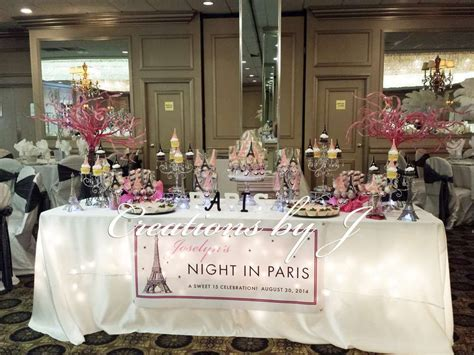 quinceanera themes paris paris night theme quincea 241 era party ideas sweet 15 and