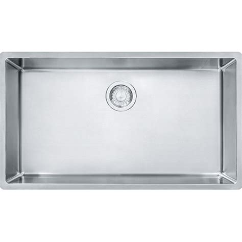 Franke Cux11030 Cube 31 1 2 Inch Undermount Single Bowl Franke Kitchen Sinks Prices