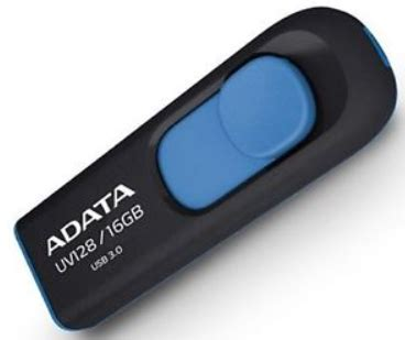 Flash Disk A Data Uv128 16 Gb Usb 3 a data uv128 16gb usb 3 0 modr 253 flash disk electroworld cz