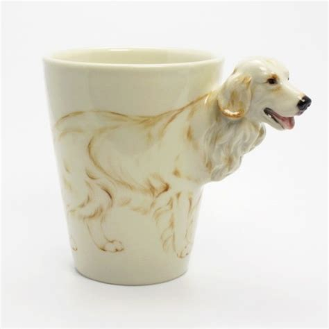golden retriever gifts for golden retriever mug coffee cup handmade gifts collectibles 0002 madamepomm on artfire