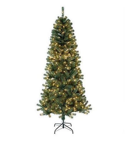 st nicholas square pre lit christmas tree only 42 99