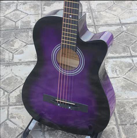 Gitar Akustik Dreadnought Pink ikuzo guitars part 3
