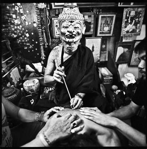 thai magic tattoos the and influence of sak yant books quot sacred ink quot photographer filmmaker cedric arnold