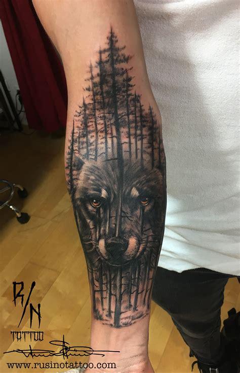 wolf forest tattoo maori tattoos tatoo and wolf