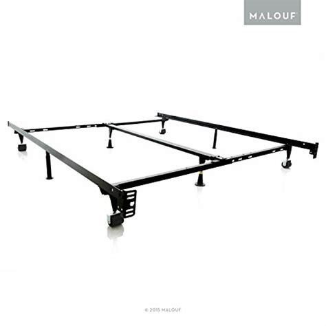Structures Low Profile 8 Leg Heavy Duty Adjustable Metal Heavy Duty King Size Bed Frames
