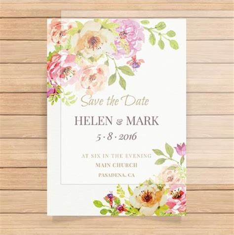 Linen Paper Wedding Invitations by Simple Linen Paper Wedding Invitation Floral Design With