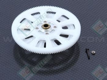 Alzrc 450 New Autorotation Drive Gear White alz d45p32 alzrc 450 pro 121t slant thread drive gear set white for buy now rc711