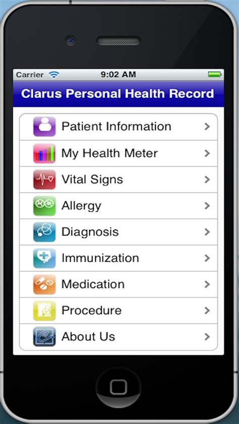 Personal Health Record App App Shopper Personal Health Record Healthcare Fitness