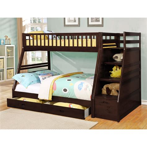 bunk bed with desk cheap bedroom cheap bunk beds with stairs cool bunk beds for 4