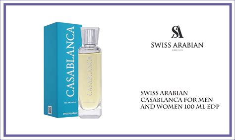 Casablanca Edt 100ml By Costmart top 10 swiss arabian perfumes of all time based on popularity