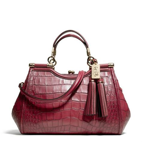 Coach Carryall Crocodile Ghw Fashion Week With Pouch C 108 17 Best Images About Handbags On Nash