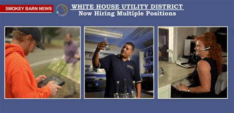 White House Utility District by Now Hiring White House Utility District Openings
