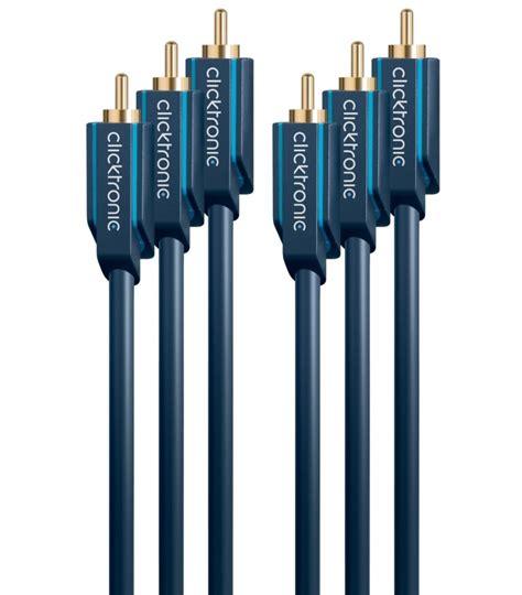 Kabel Component kabel component 3x rca 3x rca 15m clicktronic easymar pl