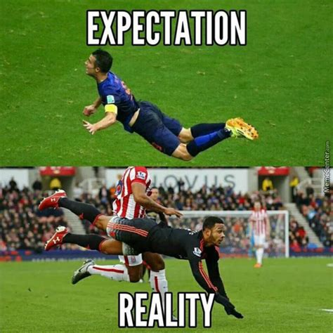 Van Persie Meme - robin van persie vs memphis depay by negergoose meme center
