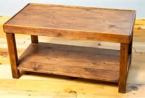 Barn Wood Coffee Table Reclaimed Barn Wood Coffee Table