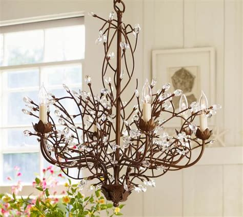 Potterybarn Chandelier Camilla 6 Arm Chandelier Pottery Barn