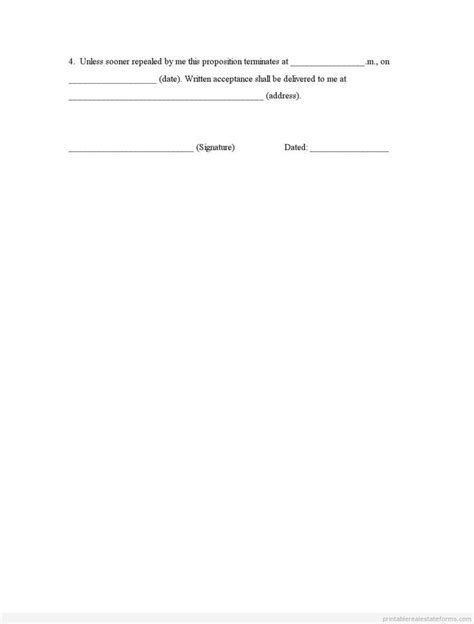 sealed bids letter template 17 best images about printable forms on