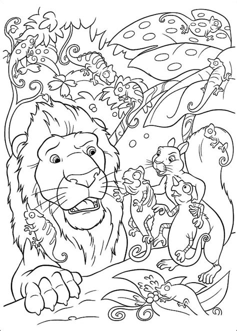 coloring page the wild coloring pages 2