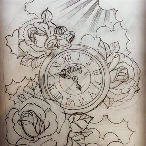 images tagged with pocketwatchtattoodesign on instagram