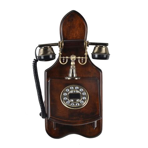 decorative wall phones antique wooden phone home decorative wall mounted