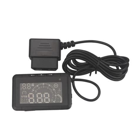Car Led Hud Up Display Obd2 Interface 5 5 Inch Led Car Hud Up Display With Obd2 Interface Play Speeding Warn System W01