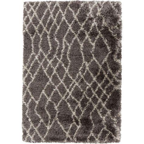 comfortable area rugs lanart comfort shag taupe 8 ft x 10 ft area rug