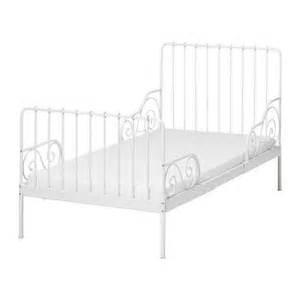 Iron Bed Frames Ikea Ikea Minnen White Iron Bed Frame Ikea