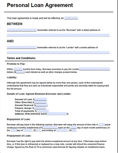 Installment Loan Agreement Template Emsec Info Free Financial Loan Agreement Template