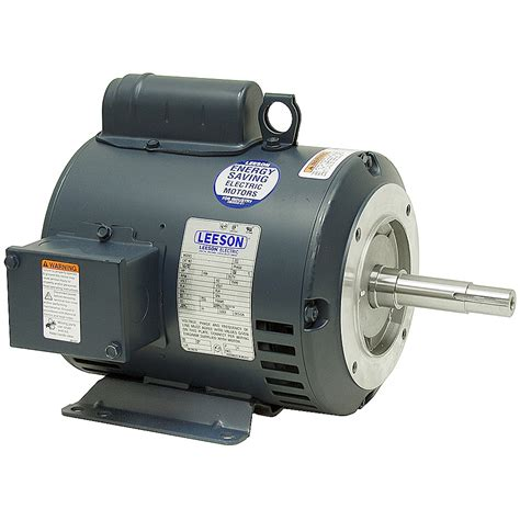rpm of a motor 2 hp 1740 rpm 115 230 vac motor leeson l13m