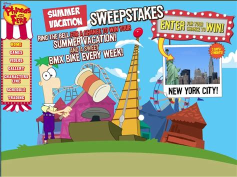 phineas and ferb backyard beach game celebrate summer with phineas and ferb s summer vacation