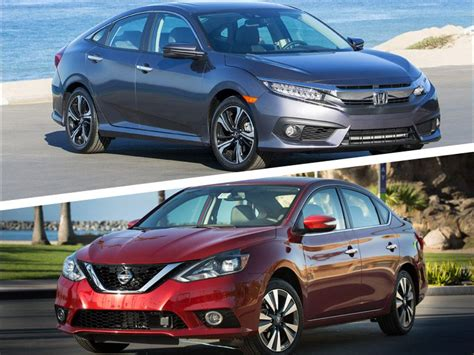 nissan civic 2017 2017 honda civic vs 2017 nissan sentra which is best