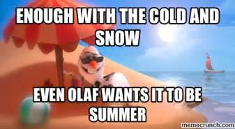 Olaf Meme - olaf summer