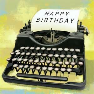 martin irish type writer copy happy birthday o