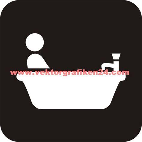 piktogramm badewanne piktogramm bad badewanne