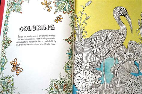 creative therapy an anti stress coloring book philippines anti stress coloring book is creative therapy for adults