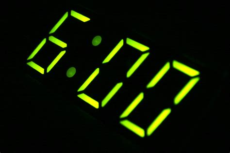 Alarm Clock 6am on a digital clock free stock photo free photos from photogen