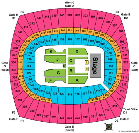 arrowhead stadium seating chart for kenny chesney brothers of the sun tour arrowhead stadium tickets