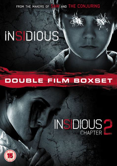 insidious film description insidious 1 and 2 dvd zavvi