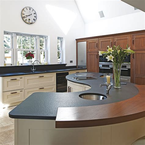L Shaped Kitchen Designs With Island Pictures by Kitchen Island Ideas Ideal Home
